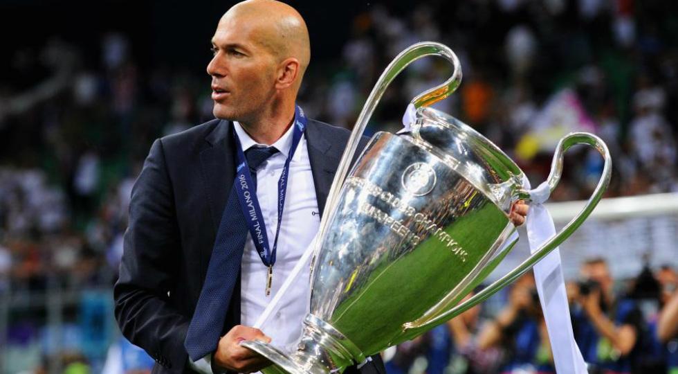 Zinedine Zidane Liga Champions 2017